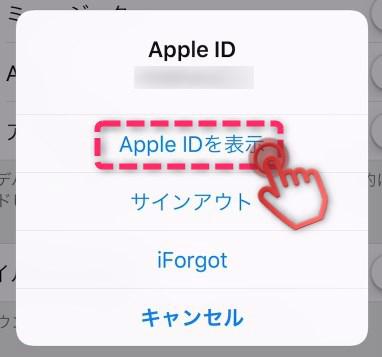Apple IDを表示選択画像003